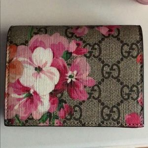 Gucci Blooms Card Case (Never Been Used)